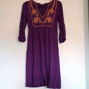 Fossil Jersey Cotton Dress